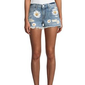 7 For All Mankind Daisy Denim Shorts